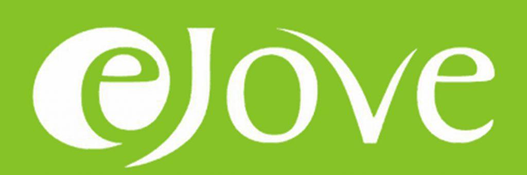 EJove Logo - Grün mit weißer Schrift